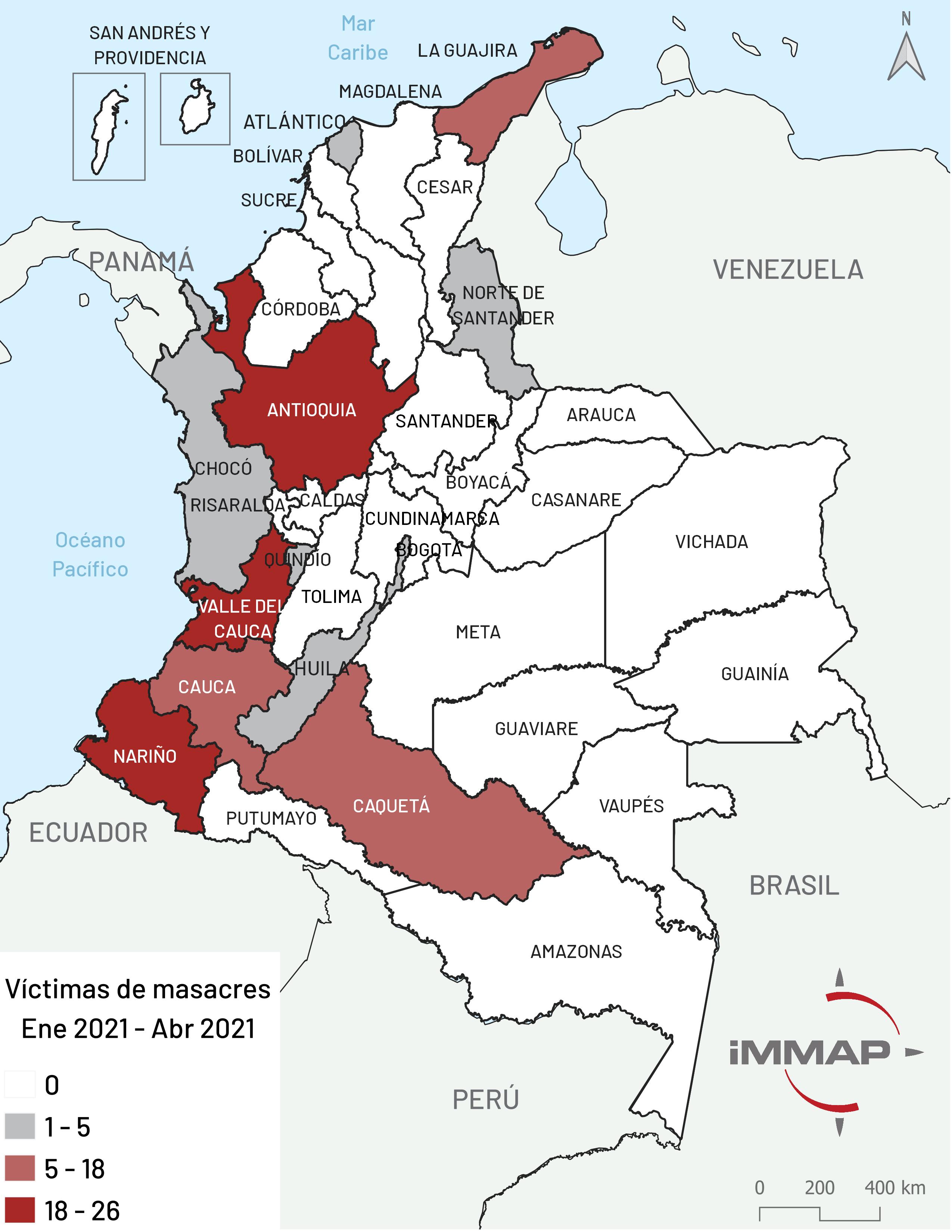 Víctimas de masacres
